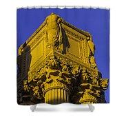 Wonderful Palace Of Fine Arts Shower Curtain