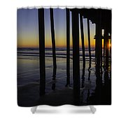 Wonderful Pismo Sunset Shower Curtain