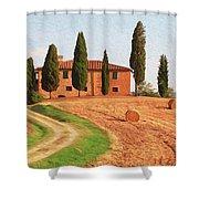 Wonderful Tuscany, Italy - 02 Shower Curtain