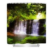 Wondrous Waterfall Shower Curtain