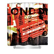 Wonders Of London Shower Curtain