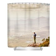 Wondrous Western Tasmania Shower Curtain