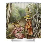 Wont They Be Pleased With These Beauties Shower Curtain