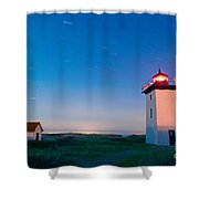 Wood End Lighthouse Provincetown Cape Cod Shower Curtain