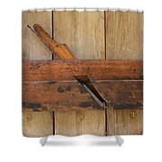 Wood Molding Plane 2 Shower Curtain