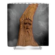 Wood Nymph II Shower Curtain