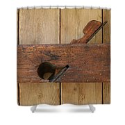 Wood Plane 3 Shower Curtain