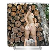 Wood Shed 261 Shower Curtain