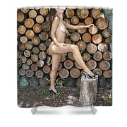 Wood Shed 269 Shower Curtain