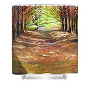 Wooded Sanctuary Shower Curtain