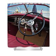 Wooden Boat Classic Shower Curtain