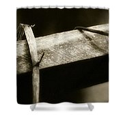 Wooden Fence Part 1 Shower Curtain
