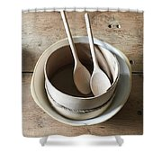 Wooden Spoons Shower Curtain