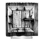 Wooden Window II Shower Curtain