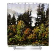 Woodland Bottoms In April Shower Curtain