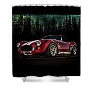 Woodland Cobra Shower Curtain