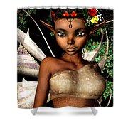 Woodland Fairy  Shower Curtain