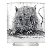Woodland Jumping Mouse Shower Curtain
