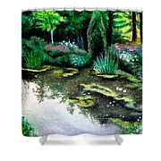 Woodland Mystery Shower Curtain