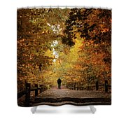 Woodland Promenade Shower Curtain
