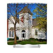 Woodlandville Methodist Church Shower Curtain