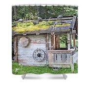Woodman's Cabin  Shower Curtain