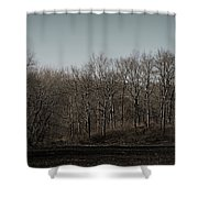 Woods Among The Trees Shower Curtain