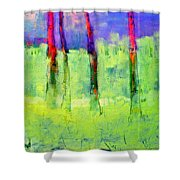Woods Canyon 6 Shower Curtain