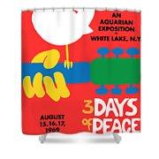 Woodstock Shower Curtain