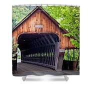 Woodstock Middle Bridge Shower Curtain
