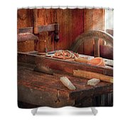Woodworker - The Table Saw Shower Curtain