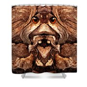 Woody 128a Shower Curtain