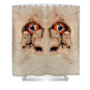Woody 72 Shower Curtain