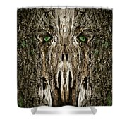 Woody 99 Shower Curtain