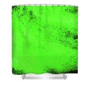 Wool Green Shower Curtain