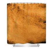 Wool Orange Shower Curtain