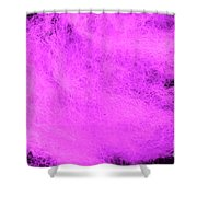 Wool Pink Shower Curtain