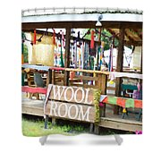 Wool Room 1 Shower Curtain