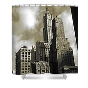 Old New York Photo - Historic Woolworth Building Shower Curtain