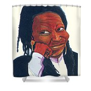 Woopy Goldberg Shower Curtain