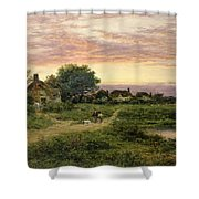 Worcestershire Cottages Shower Curtain