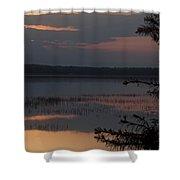 Worden's Pond Sunrise 2 Shower Curtain