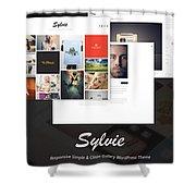 Wordpress Business Themes Shower Curtain