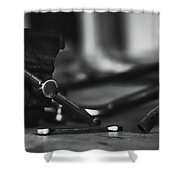 Workbench  Shower Curtain