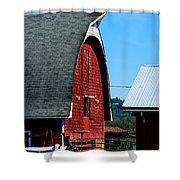 Working Barn Shower Curtain