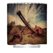Working Life Shower Curtain