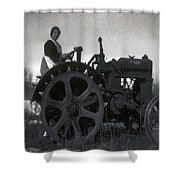 Working Woman Shower Curtain