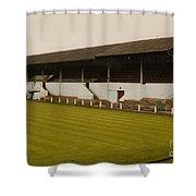 Workington - Borough Park - Main Stand 2 - 1970s Shower Curtain