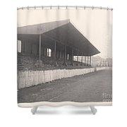 Workington - Borough Park - Popular Side 1 - 1960s Shower Curtain