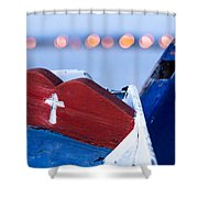 Works Of The Journey I15 Shower Curtain